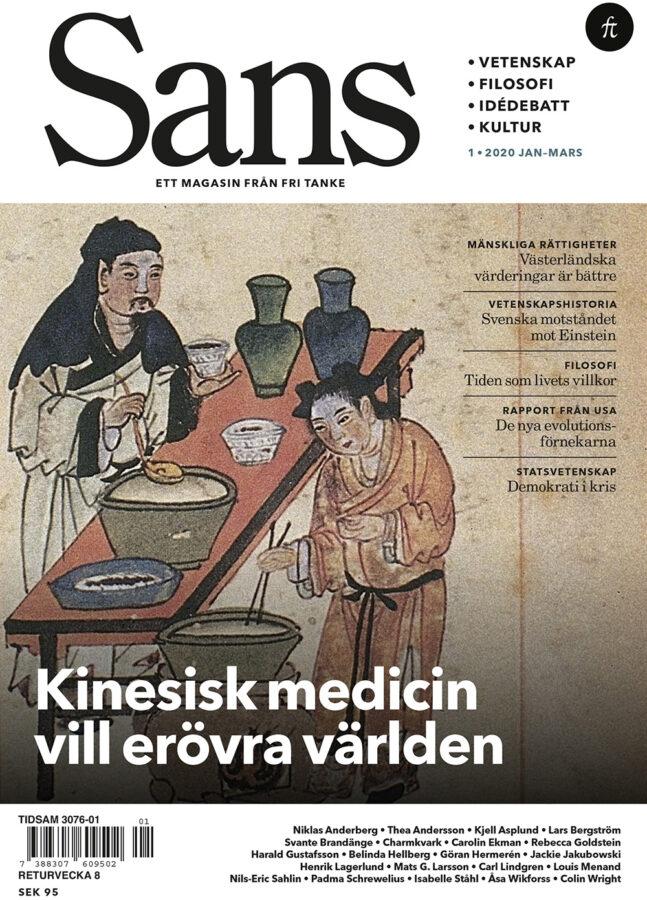 Sans 1/2020: Kinesisk medicin, mänskliga rättigheter och kampen om verkligheten, bound