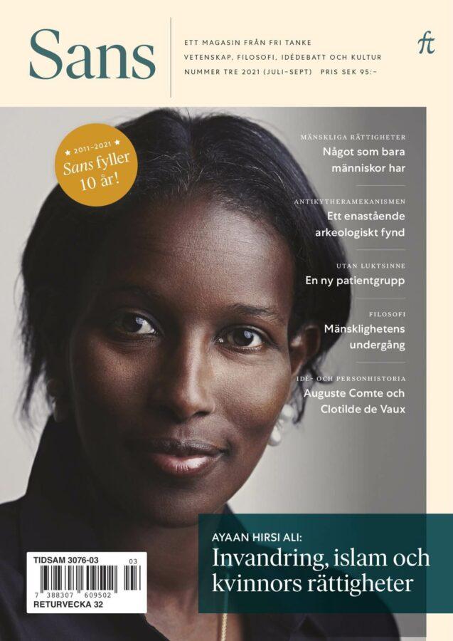 Sans 3/2021: Invandring, islam och kvinnors rättigheter, bound